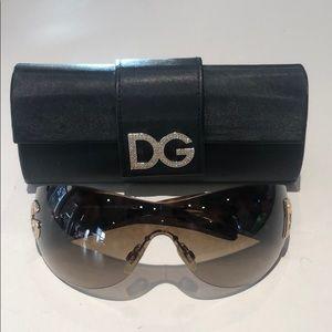 Dolce & Gabbana women's shield sunglasses DG6036-S